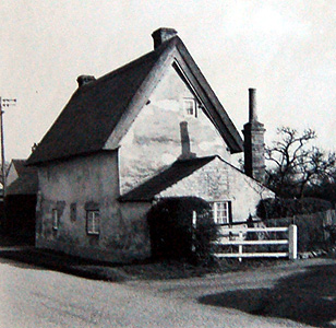 23 Main Road in 1956 from the Biddenham WI scrapbook [X535/6]